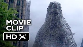 Godzilla Movie CLIP Let Them Fight (2014) Bryan