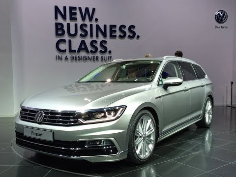 World Premiere: Volkswagen Passat - New Business Class