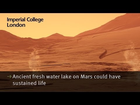 Ancient fresh water lake on Mars could have sustained life