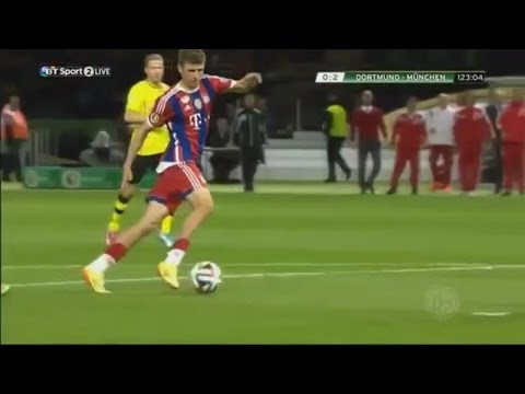 Borussia Dortmund vs Bayern Munich 0-2 | DFB Pokal Final 13/14 | [Cropped]