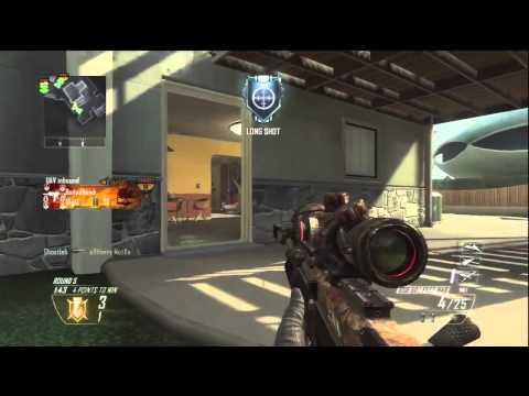 Black Ops 2 - Insane NoScope Spawn Shots!