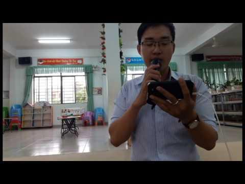 Thầy giáo hát live Bống bống bang bang