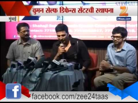 Zee24Taas । Mumbai Akshay Kumar And Aditya Thackeray On Women Safety