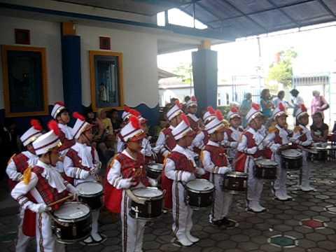 Taman Kanak-kanak Mini Pak Kasur Band di tk Mini Pak Kasur