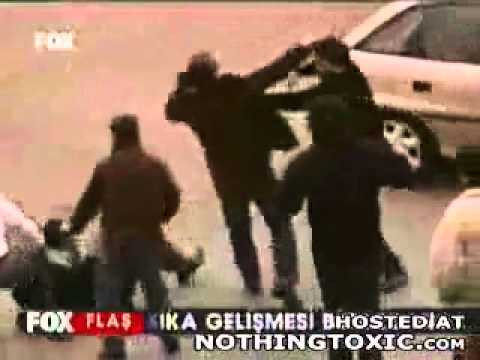 image vidéo  مشاجرة ملاكم في الشارع