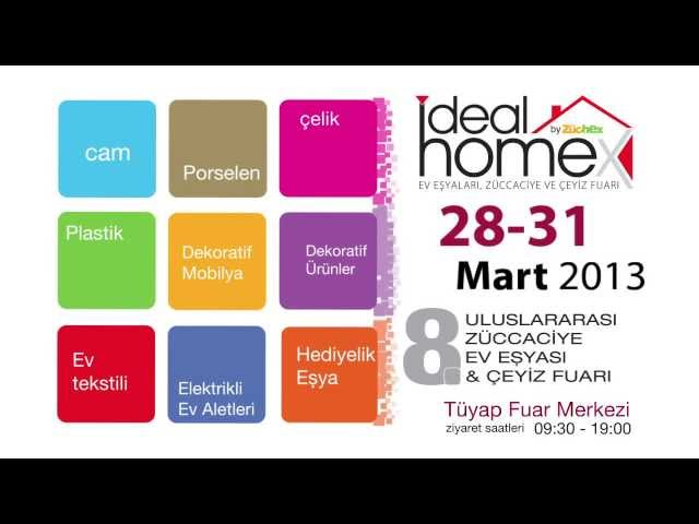 2013 ideal home fuarı
