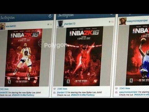 NBA 2K16 My Career Storyline & Cover Athlete News