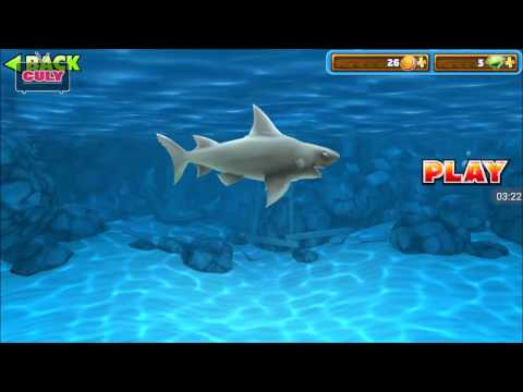 Chơi Hungry Shark Cá mập lớn nuốt cá bé cu lỳ chơi game bình luận vui nhộn   funny gameplay