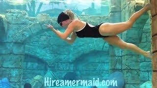 Woman Pro Diver Is A Mermaid At Heart (underwater Skills