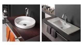 Invitrum lavamanos y vidrio fundido vea mas videos de chabelos chabelos tvplayvideos - Lavamanos sobre encimera ...