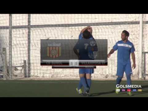 CD Buñol 3 - 1 Villajoyosa CF  2014/2015