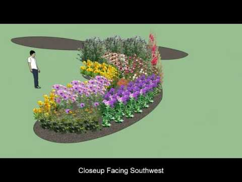 My Butterfly Garden Plan using Google Sketchup YouTube