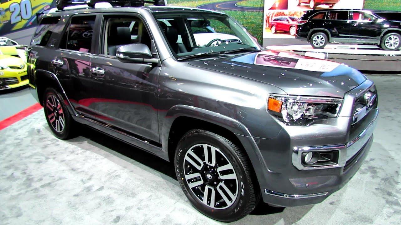 2014 Toyota 4runner Limited Exterior And Interior Walkaround 2013 La Auto Show Youtube