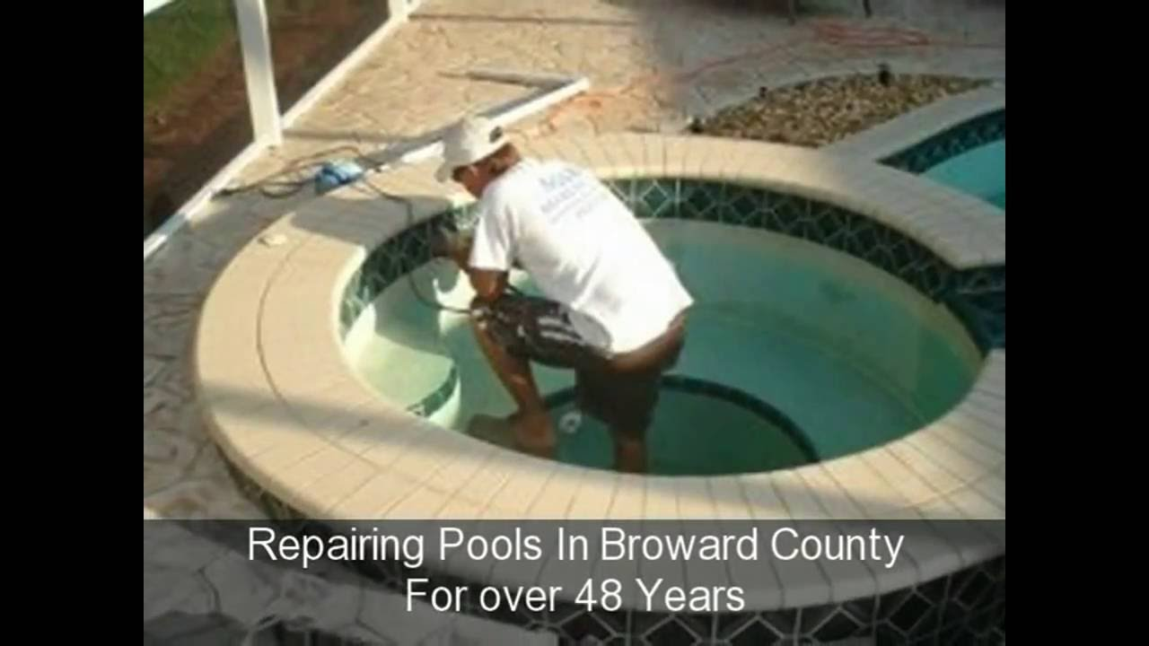 how to fix a swimming pool pump leak