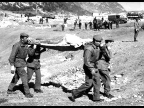Vajont disaster (October 9, 1963)