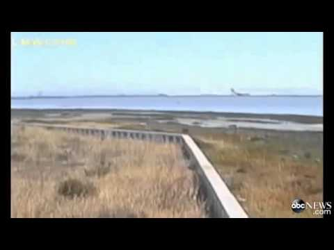 News Today - Asiana Airlines Crash Caught on Airport Camera