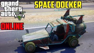 "GTA V ONLINE ""Space Docker"" HIDDEN ALIEN SPACESHIP CAR"