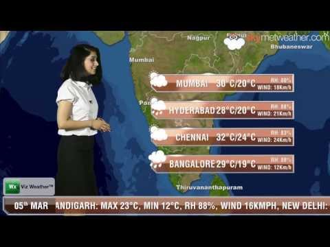 05/03/14 - Skymet Weather Report for India