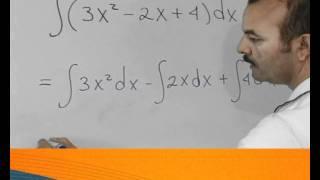 Fórmulas básicas de integración