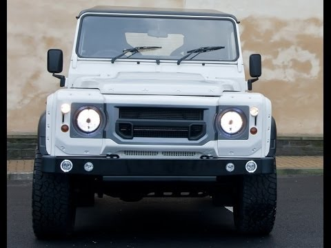 ?#landrover 2014 A Kahn Design Land Rover Defender White