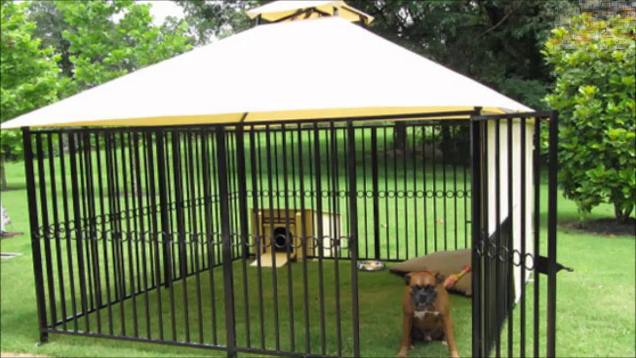 back yard dog kennel designs Quotes