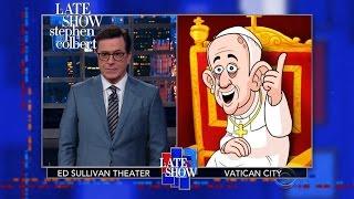 Cartoon Pope Francis Roasts Donald Trump