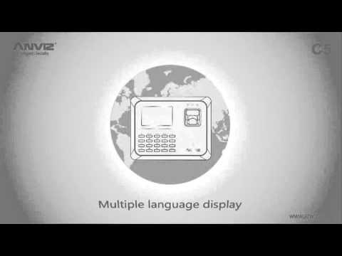 C5 controllo accessi e rilevazione presenze video ufficiale presentazione Anviz