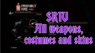 Saints Row IV All Weapons, Costumes And Skins