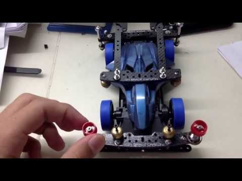 Tamiya mini 4wd technical setup review