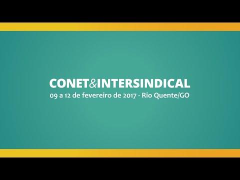José Hélio Fernandes | Próximo CONET&INTERSINDICAL;