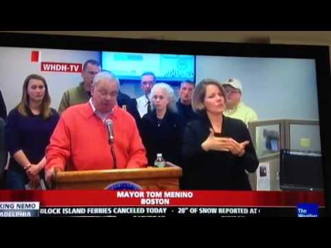 Mayor of Boston on Winter Storm Nemo