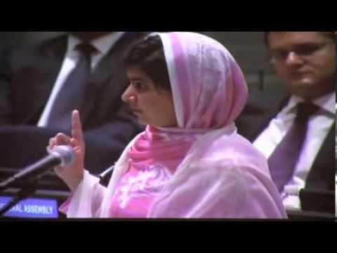 Young Heroine Malala Yousafzai