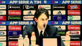 Milan, Inzaghi: 'Pazzini? Qualcuno deve stare fuori'