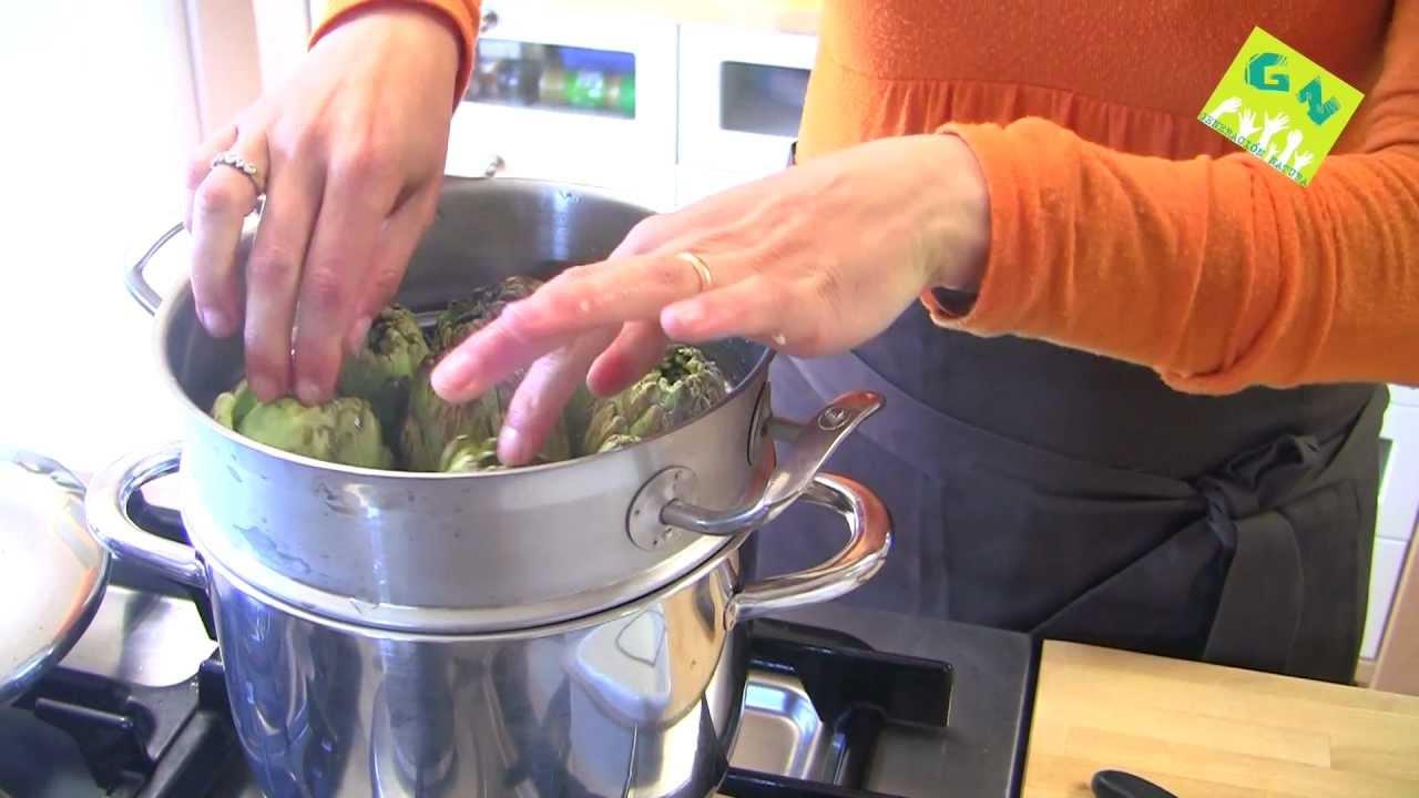 Receta de humus con alcachofas al vapor cocina for Cocina macrobiotica