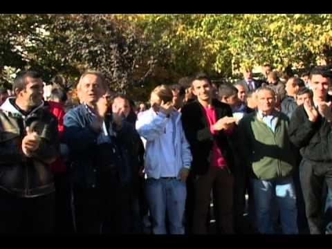 Kundër shtetit policor në Kosovë, kundër pazareve me Serbinë në Bruksel 22.10.2012
