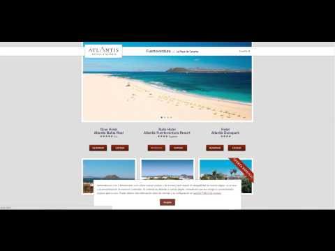 Como usar un codigo promocional Atlantis Hotels