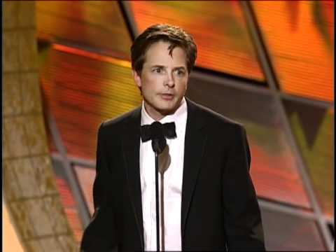 Michael J. Fox Wins Best Actor TV Series Musical or Comedy - Golden Globes 2000