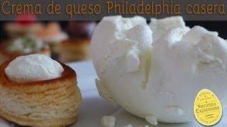 Crema de queso casera