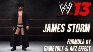 WWE '13 James Storm CAW Formula By Gamevolt & AKz EffecT