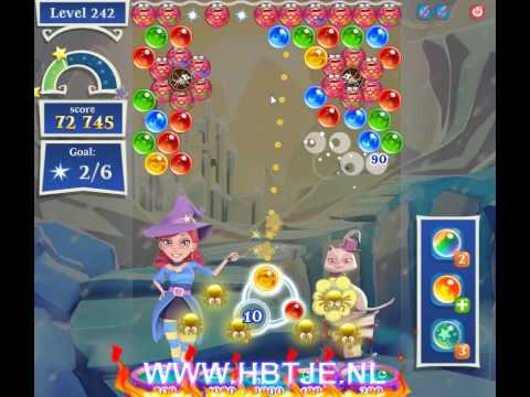 Bubble Witch Saga 2 level 242