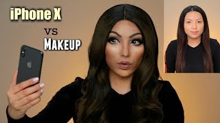 iPhone X vs Makeup Transformation (Face ID TEST)