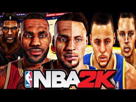 NBA 2K Games Evolution (NBA 2K - NBA 2K16)
