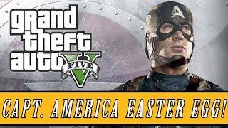 "Grand Theft Auto 5 Captain America ""Shield"" Easter Egg"