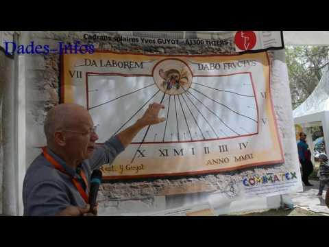 Le Gnomoniste Yves GUYOT à Ouarzazate
