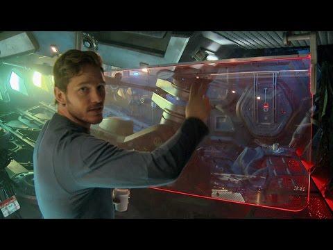 Tour Star-Lord's Spaceship the Milano with Chris Pratt