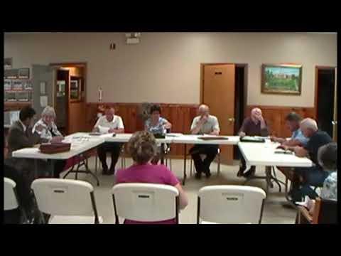 Altona Town Board Meeting 7-8-13