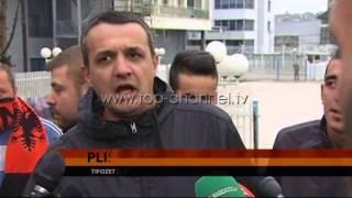 Plisat, protest kundr UEFAs  Top Channel Albania  News  L