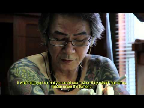 Yakuza Tattoo Artist explains the significance of body art to the Japanese Mafia