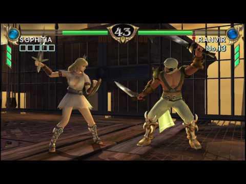Soulcalibur Broken Destiny PPSSPPv1.3 Sophitia Quick Match part5