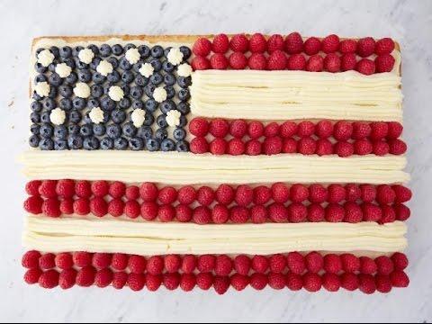 Ina's American Flag Cake | Food Network
